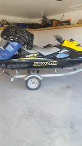 Selling a 2007 seadoo  rxt 215 supercharged