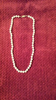"""18"""" pearl necklace"""