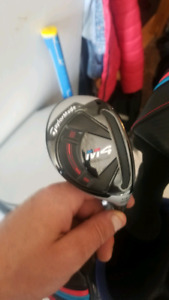 Taylormade M4 hybrid rescue 3 and 4