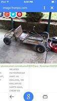 WANTED:old go kart
