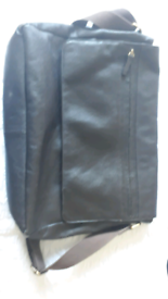 Messenger/laptop bag, soft leather