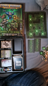 Warhammer 40K Space Marine Adventures Labrynth of the Necrons