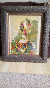 For Sale Antique framed painting with historical signifigance