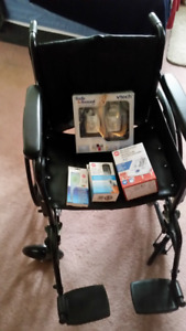 Wheelchair and Health Monitors/Selling items seperately too