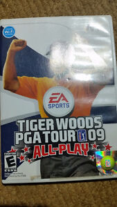 Tiger Woods PGA Tour 09 'All-Play' (Wii) $15  ***PLEASE VIEW POS