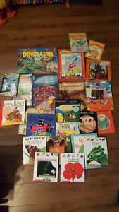 over 20 children's books English and French