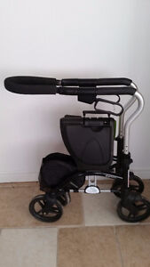 Rollator Medical Folding Walker with Wheels and Padded Seat Windsor Region Ontario image 3