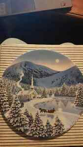 """""""Silent Night"""" The Spirit of Christmas W.S George 1991 Plate Kitchener / Waterloo Kitchener Area image 2"""