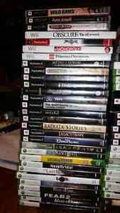 Selling 63 lot video games.