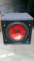 MTX 12 Inch SUB with MTX AMP