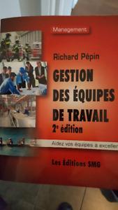 manuel gestion des équipes de travail 2e édition