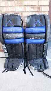 Goalie pads, chest and arms, and padded jersey for sale Windsor Region Ontario image 1