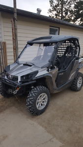 2012-13 CAN AM COMMANDER XT 1000 WITH POWER STEERING