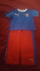 Toddler puma Italy outfit