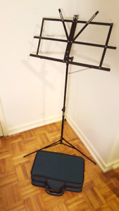 Selling andre bardot Clarinet with music stand