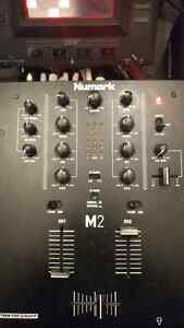 Numark M2 2-Channel Scratch DJ Mixer (Turntables Also Available)