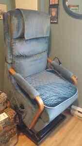 chaise à levier