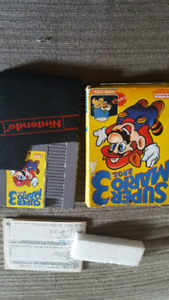 Nes boxed super mario bros 3