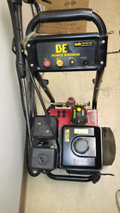 Be 3100 psi gas pressure washer