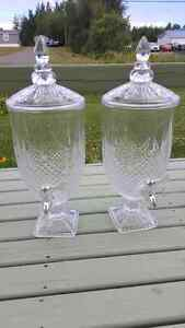 Large glass dispensers