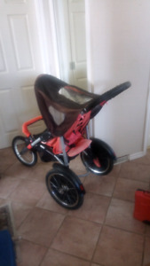 JOGGING STROLLER , UNIQUE FRONT AND BACKFACIING