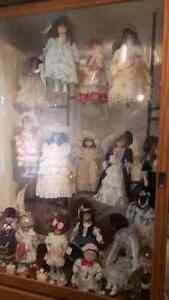 Collector Doll Collection – approx 121 dolls