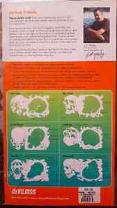 DeVilbiss Six pack of Skulls Templates