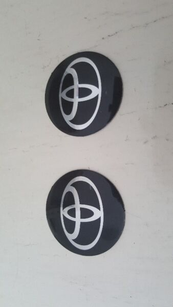 WTS: 2pcs of BN Toyota rim cover stickers