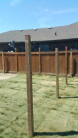 POST REPLACEMENT FENCE OR DECKS