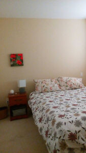 June 1st:  Furnished, modern 2-bedroom apartment to share