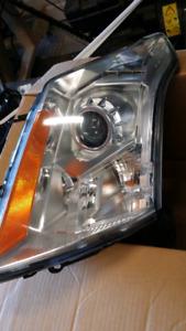 Cadillac SRX headlights