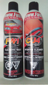 Two cans of Fastwax