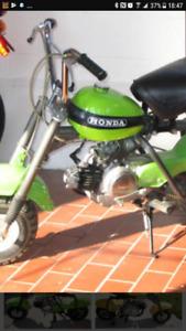 Honda qa50 z50 mr50 1970