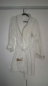 Ladies Housecoat with cats on it size L/XL