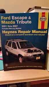 Ford Escape & Mazda Tribute Haynes Repair Manual Gatineau Ottawa / Gatineau Area image 1
