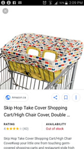 Skip hop grocery cart cover