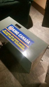 Air cleaner for dust control 650 cfm
