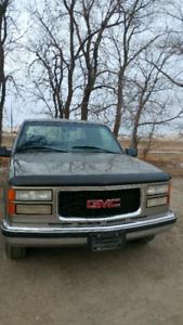 1998 GMC Sierra Truck Ext Cab