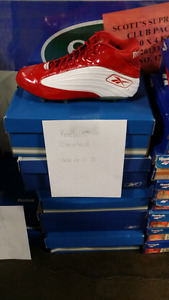 Brand new large size football cleats all brand new and clearance