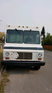 Delivery or Contractor's or food truck