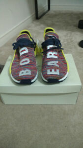 Pharrell Human Race NMD's, Multicolour, 8.5 DS in box
