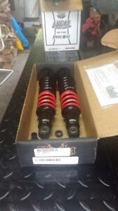 sportster 13 inch shocks by Burly