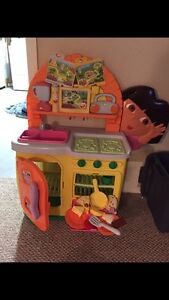 Dora the Explorer play kitchen toy