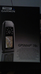 GARMIN(MARINE) GPS MAP 78s (handheld)