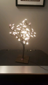 Tealight tree and TV stand