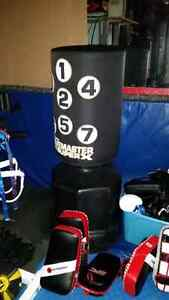 Wave master punching bag