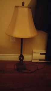 For sale:2  Stick type table lamps