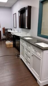 Annual distributor clearance of bathroom vanities