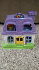 Little People House With Accessories For Sale