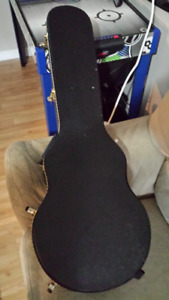 2 AVAILABLE....Generic Les Paul Hardshell caseS